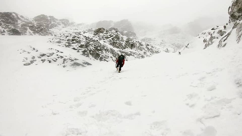Photo of Sung-Taek Hong a 7200 metri sulla Sud del Lhotse. Le prime immagini