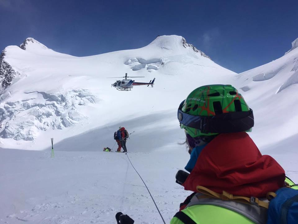 incidenti in montagna, monte rosa
