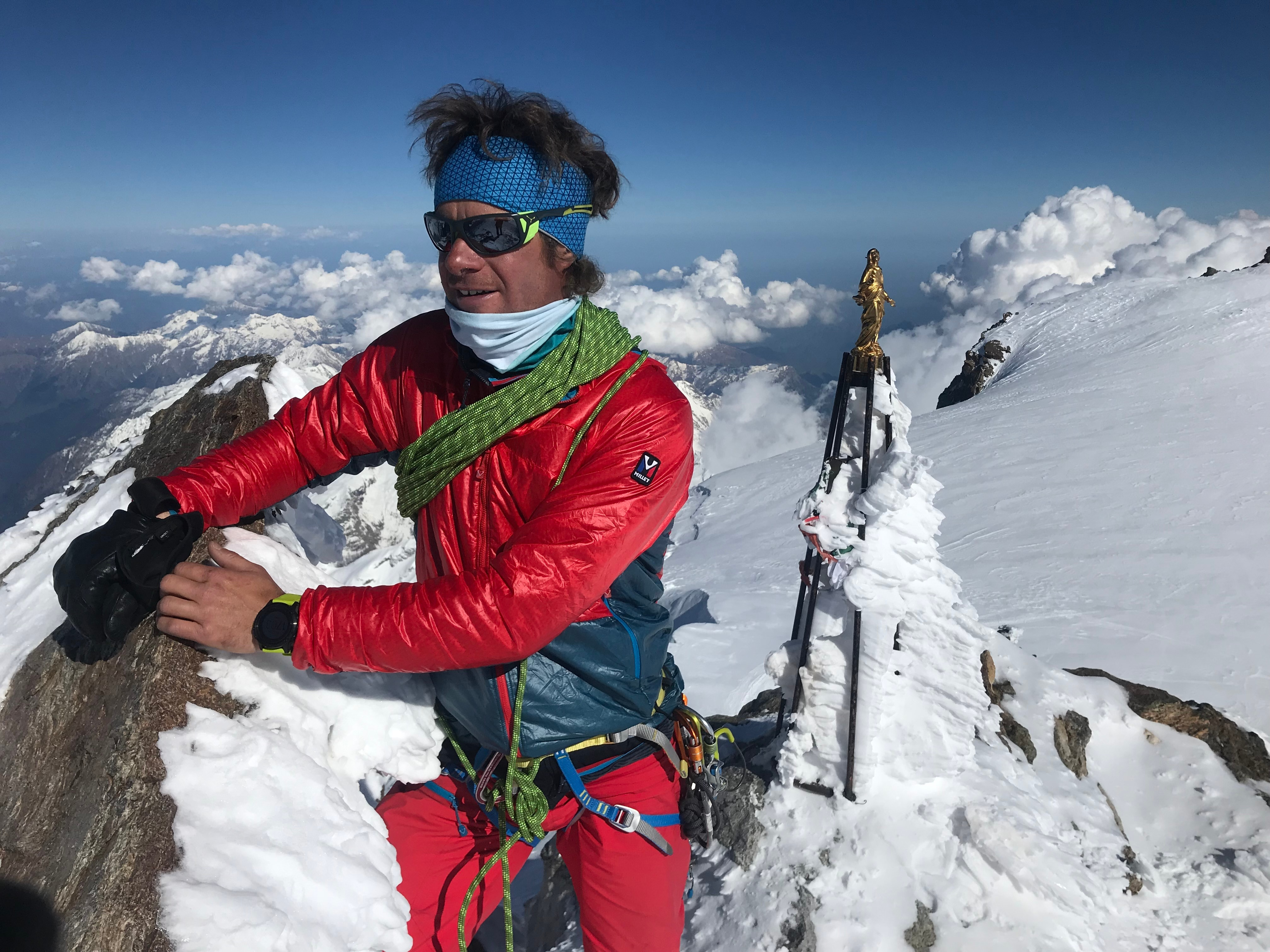 Photo of Francesco Ratti: ora l'Alaska, poi in Himalaya per l'inviolato Pangpoche e il Manaslu
