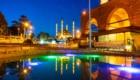 Luci nella notte a Edirne