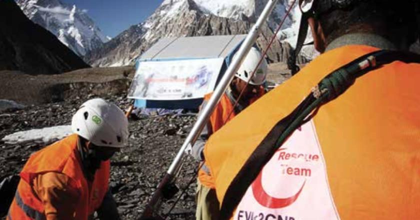 soccorso alpino, karakorum, pakistan