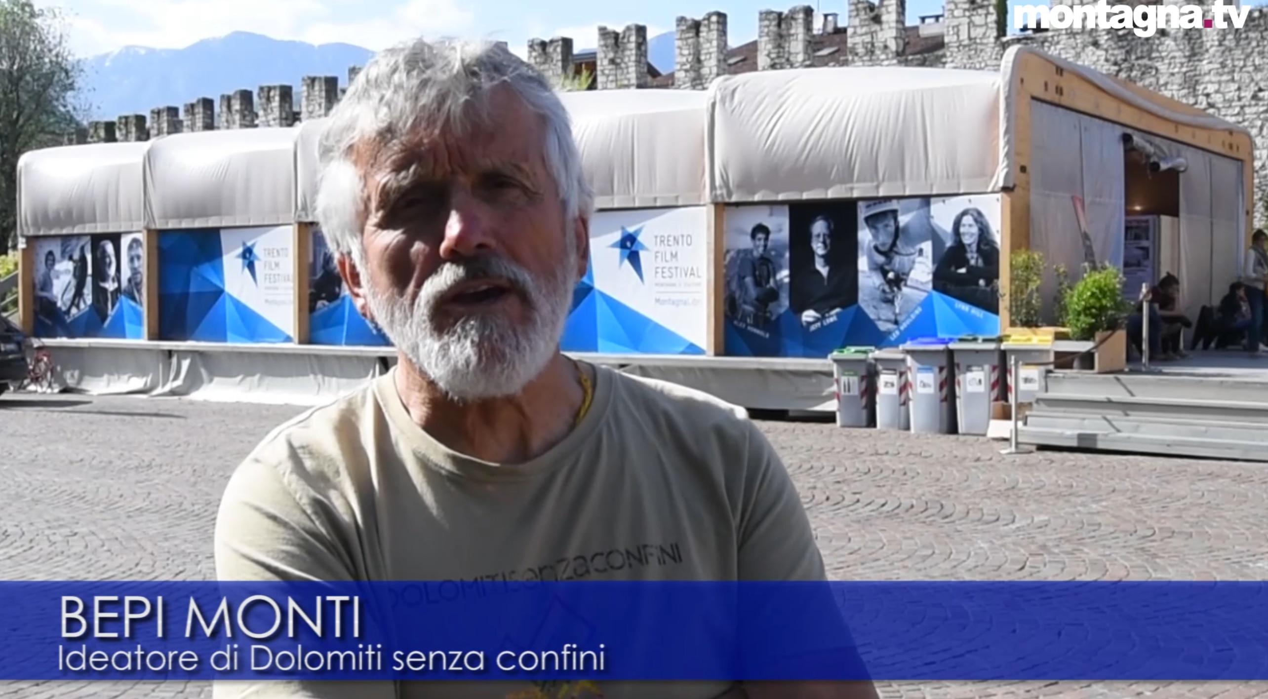 Photo of Dolomiti senza confini, video intervista a Bepi Monti