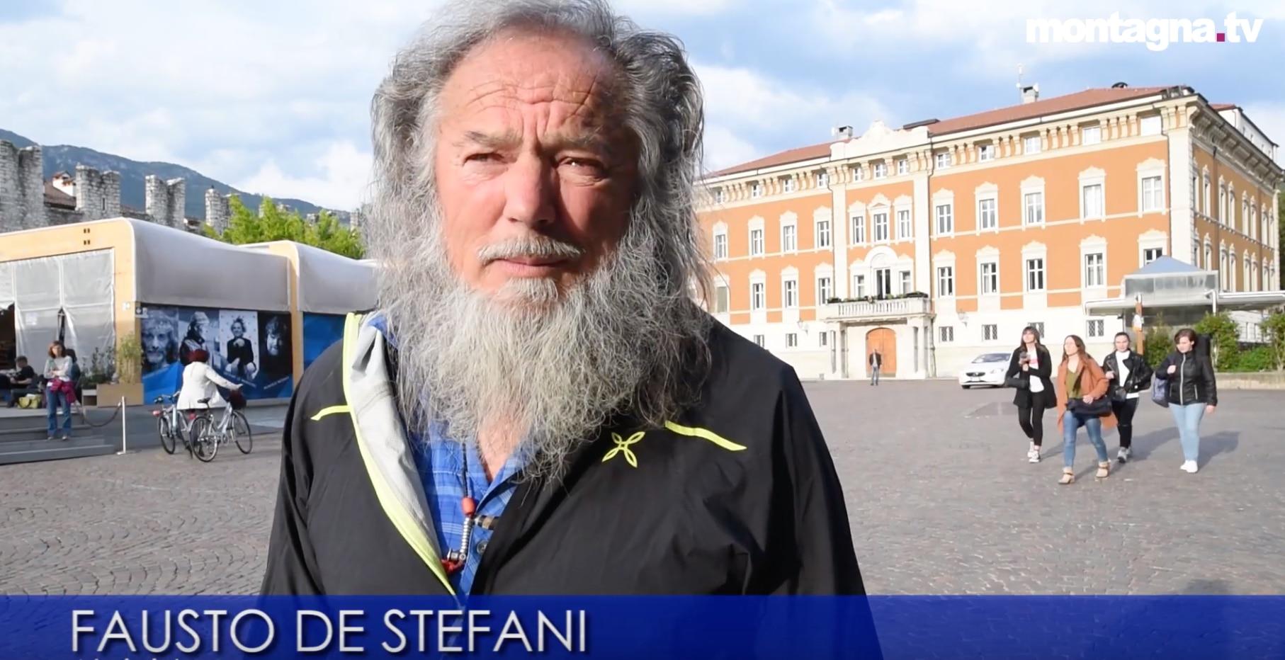 Photo of Dolomiti senza confini – video intervista a Fausto DeStefani