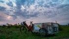 Sosta al tramonto in Bulgaria