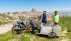 Arrivo a Uchisar, Cappadocia