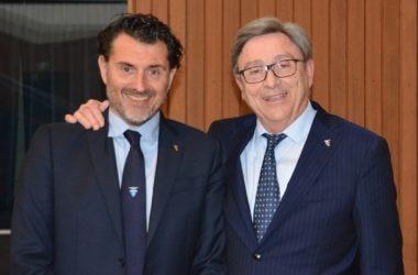 Antonio Montani e Vincenzo Torti dopo la rielezione. Foto CAI