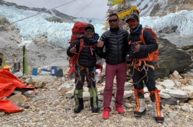 nirmal purja, project possible, makalu, nepal, dawa sherpa