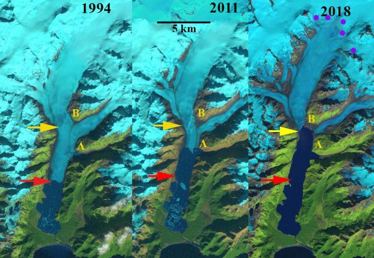 Photo of Alaska. Le immagini satellitari del drammatico arretramento del ghiacciaio Excelsior