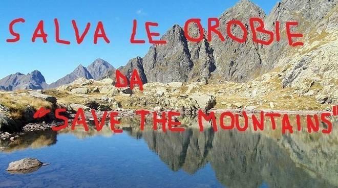 save the mountains, cai bergamo, record, orobie, petizione