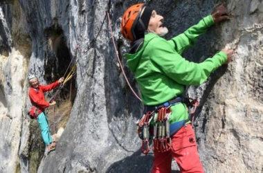 marcel remy, la guepe, arrampicata, saint loup