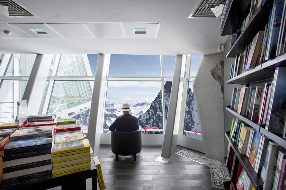 Photo of Nasce sul Monte Bianco la libreria più alta d'Europa