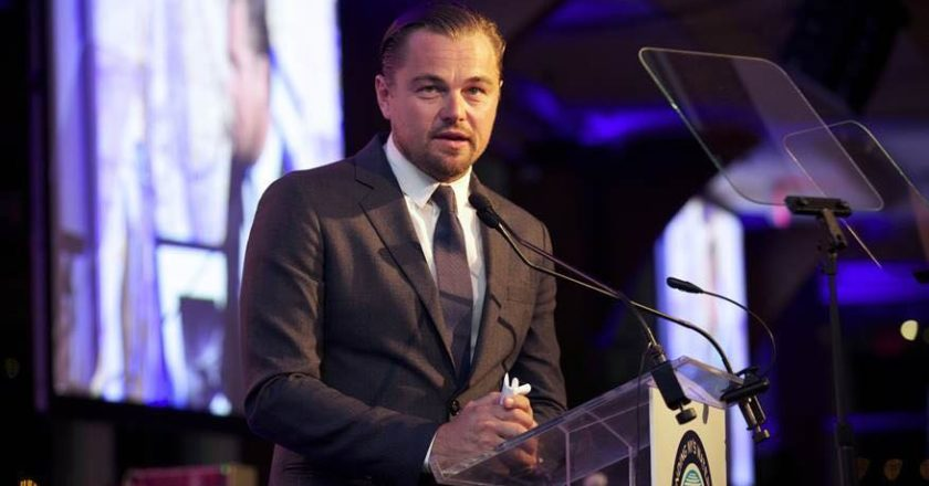 hollywood, leonardo di caprio, ice on fire, cambiamento climatico