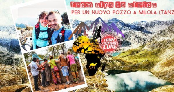 annadora sapia, michal rafinski, trail runner, run for find the cure, solidarietà, tanzania. GTA