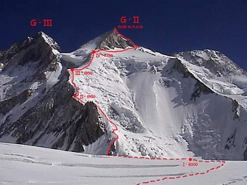 Photo of Polacchi in Karakorum per prepararsi al Gasherbrum II invernale