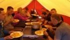 I polacchi in tenda al campo base - Foto Anindya Mukherjee