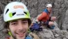 Stefano e Tommaso in cima alla guglia Civetta - Foto FB @Gruppo Alpinistico GAMMA Lecco