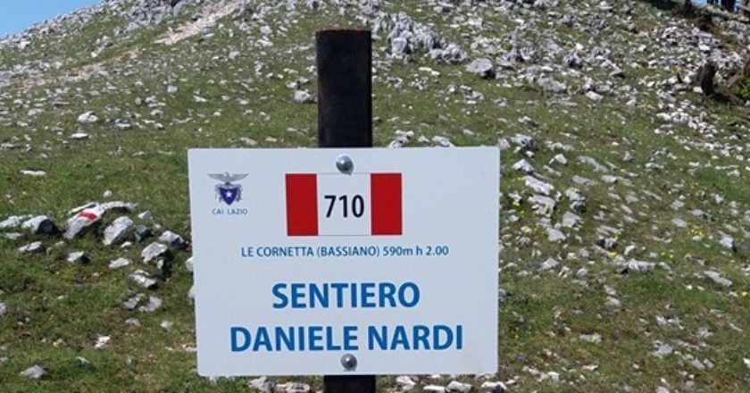 semprevisa, daniele nardi, sentiero 710, cai latina, vandalismo
