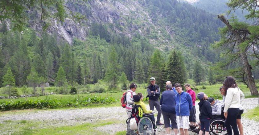 accessibilità, disabili, parco adamello brenta