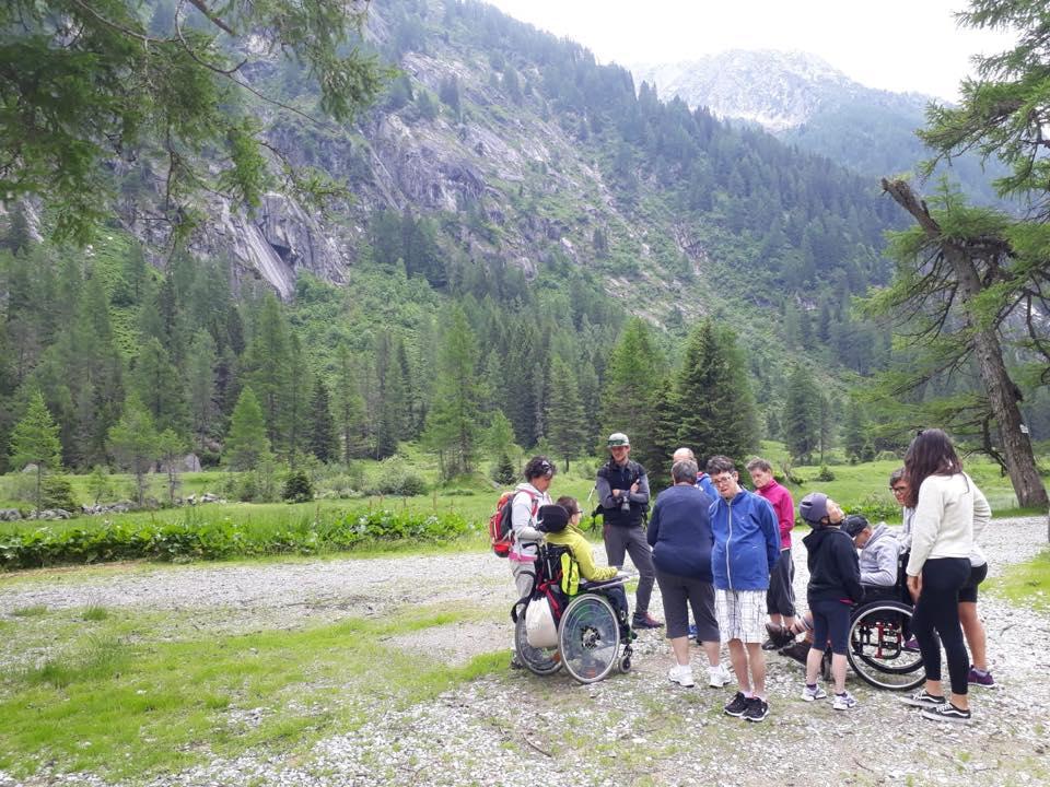"""Photo of """"Bellezza accessibile"""". Un progetto di inclusione sociale nel Parco Naturale Adamello Brenta"""