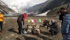 La cerimonia della Puja a campo base - Foto Anindya Mukherjee