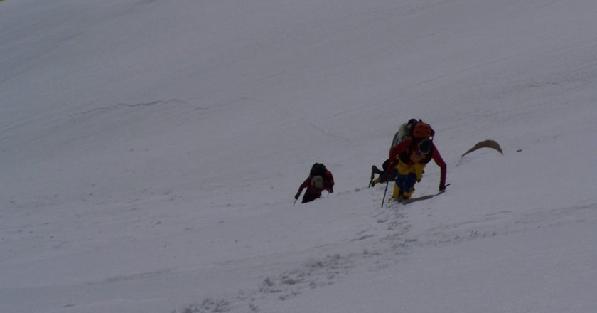 nanda devi east, polish expedition, vetta