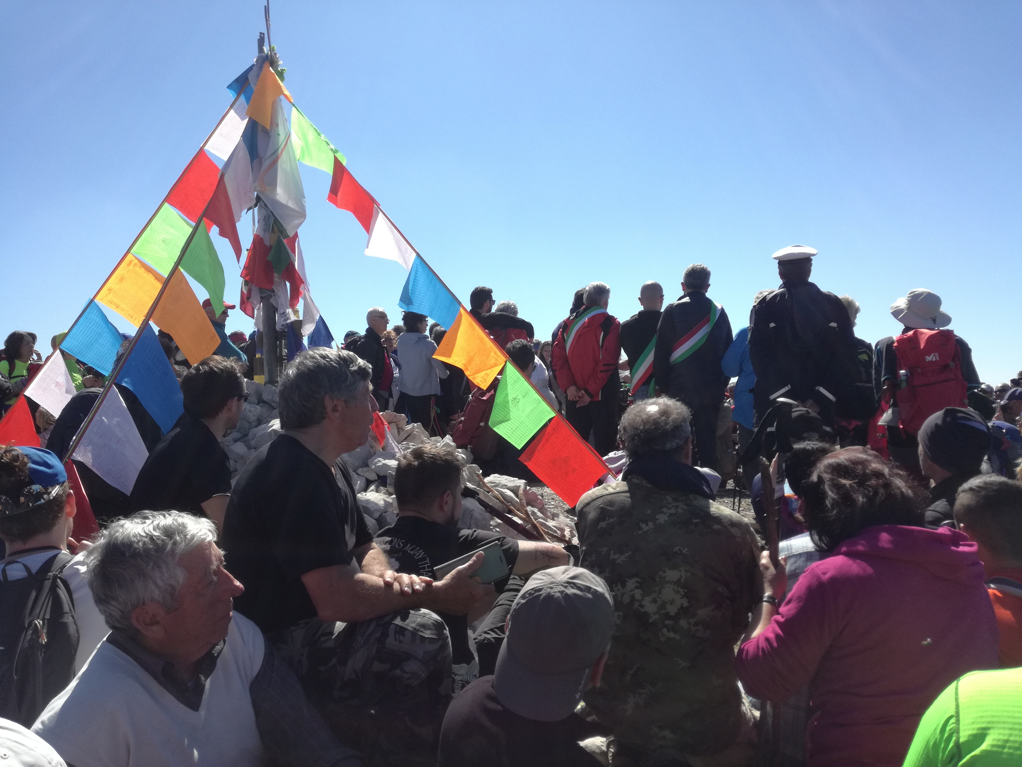 Photo of Non c'è pace sul Semprevisa. Sparita anche la targa di intitolazione della cima a Daniele Nardi