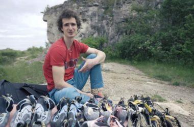 adam ondra, climbing shoes, boulder, road to tokyo, tokyo 2020