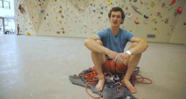 adam ondra, road to tokyo, training, boulder, lead