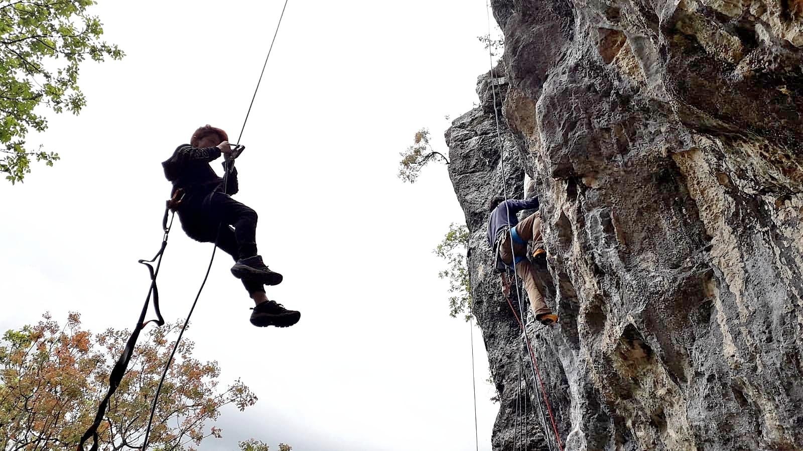 Photo of La falesia di Morro Reatino, l'arrampicata e le guide alpine nel Lazio