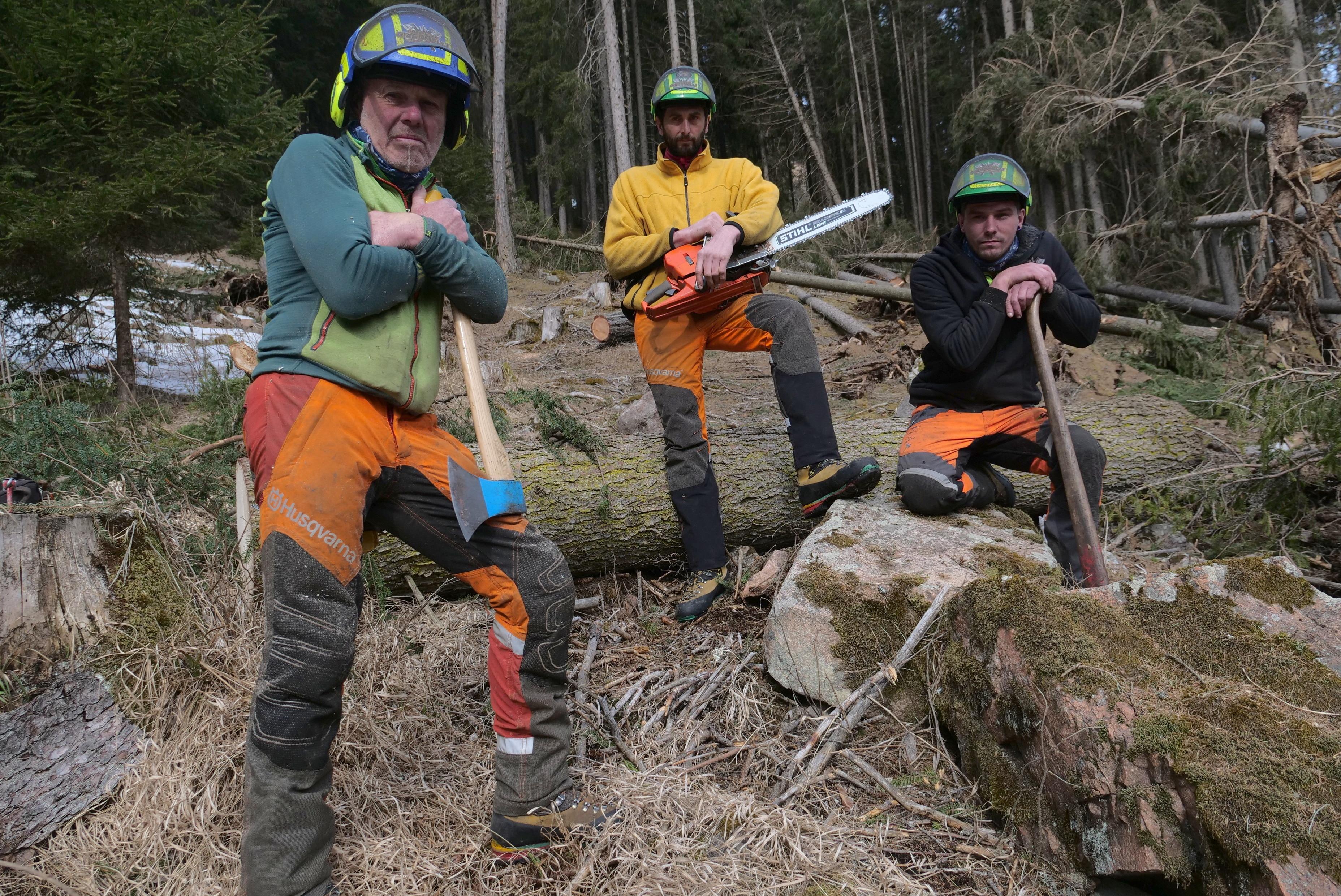 Photo of In TV una serie sulle fatiche dei boscaioli impegnati nel recupero delle foreste colpite dalla tempesta Vaia