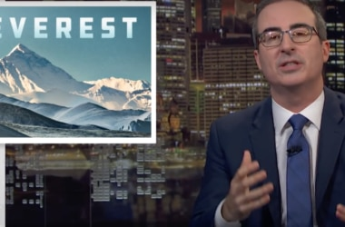 John Oliver, everest, alpinismo