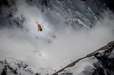 Peloton de gendarmerie d'haute montagne di Chamonix, elicottero