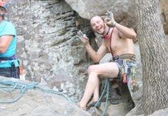 austin howell, free solo, incidente, linville gorge, arrampicata