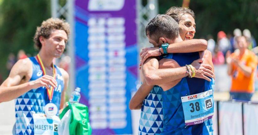 bernard dematteis, martin dematteis, cesare maestri, skopje, finale, campionati europei di corsa in montagna, edizione 2018