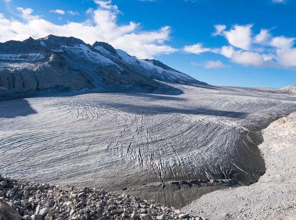 adamello, ghiacciaio