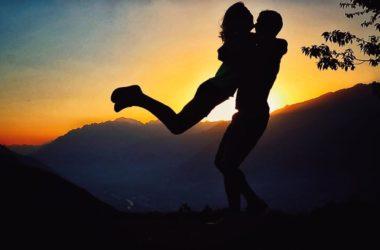 michele boscacci, alba de silvestro, matrimonio, sci alpinismo