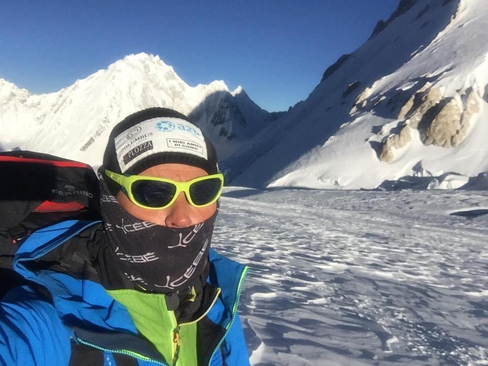 Photo of Gasherbrum, Marco Confortola in fase di acclimatamento