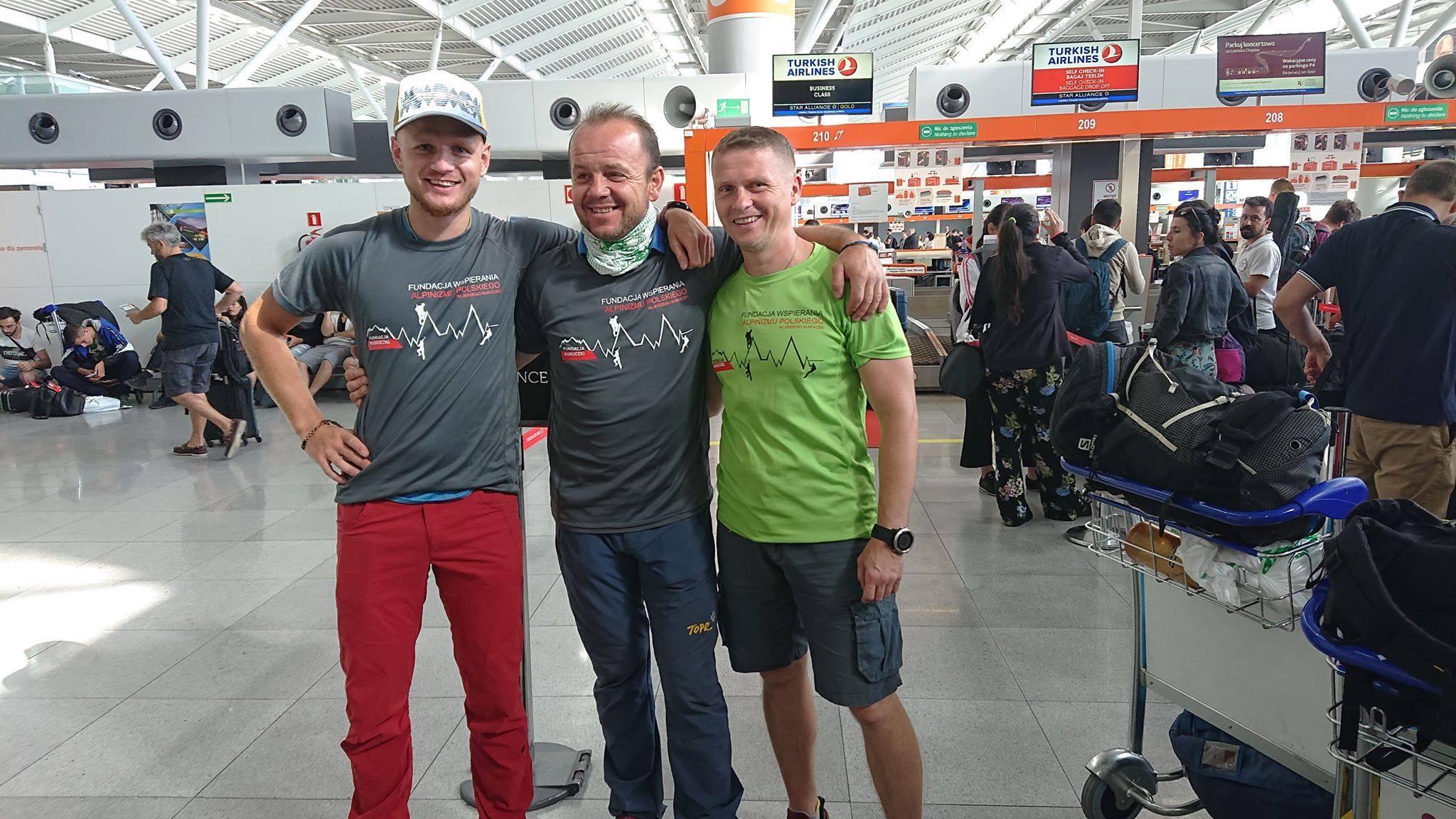 Photo of Spedizione polacca in partenza per il GVI
