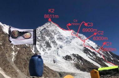alpinismo, k2