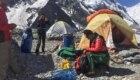 Marco Confortola al campo base dei Gasherbrum