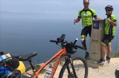 andrea lanfri, from summit to the ocean, cammino di santiago, monte rosa, finisterre