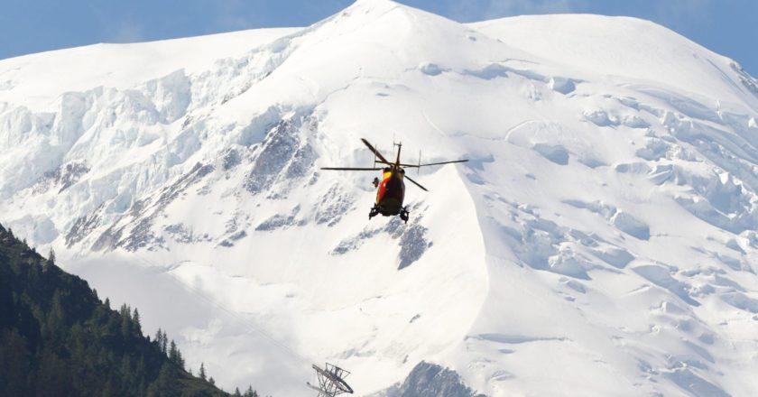 PGHM, elicottero, soccorso, monte bianco