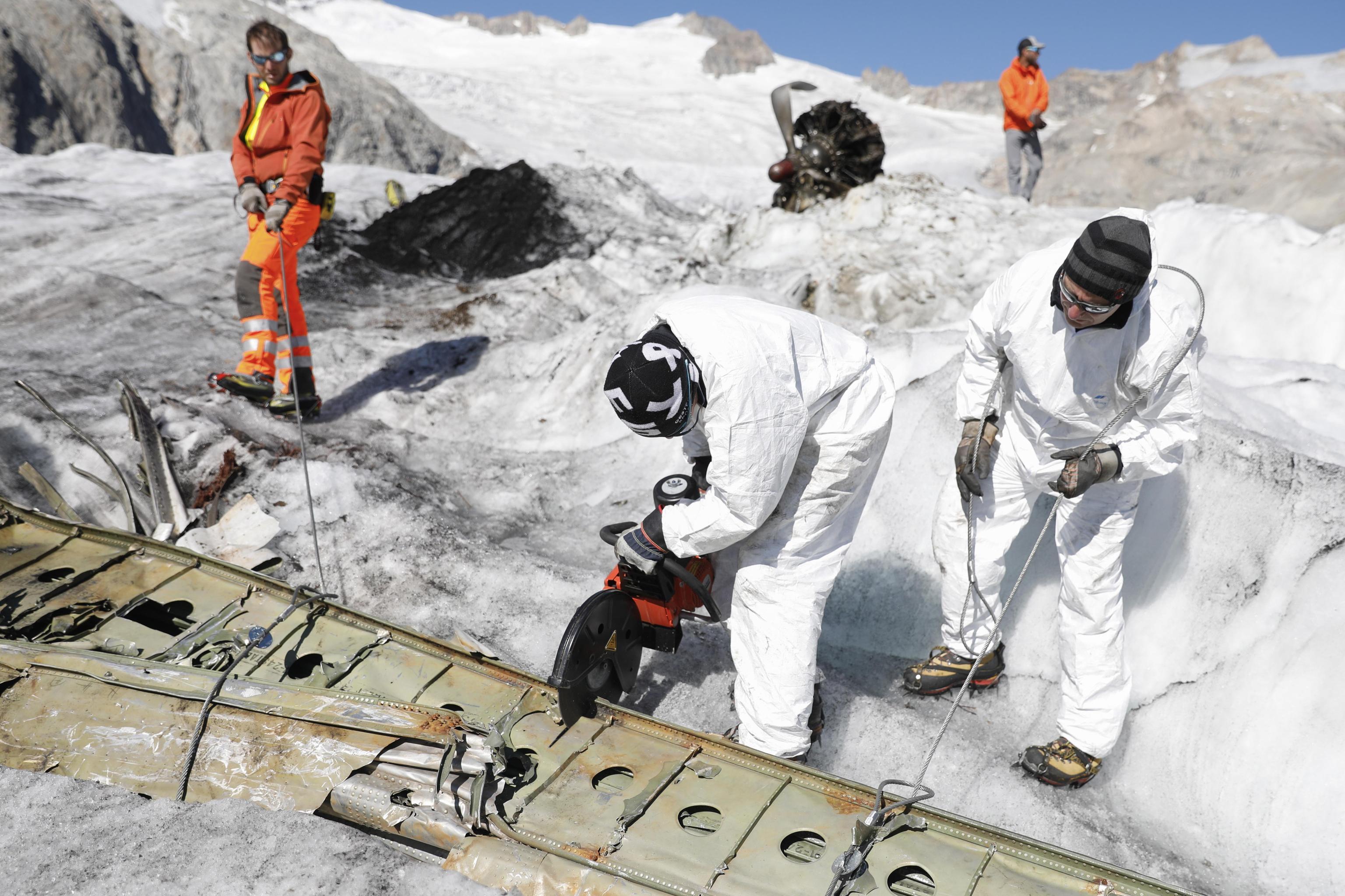 dakota c-53, ghiacciaio gauli