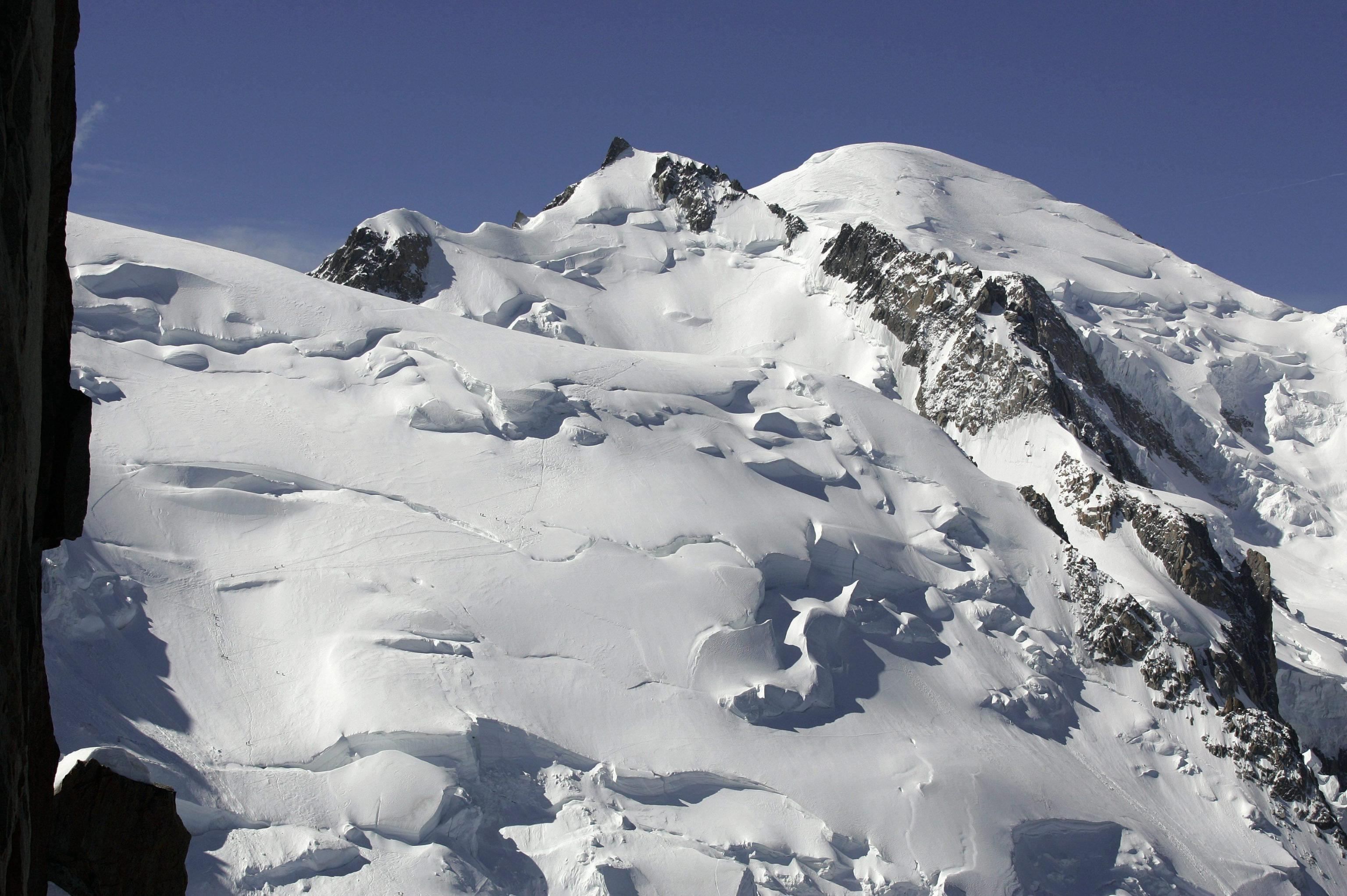 Il Monte Bianco dal versante francese