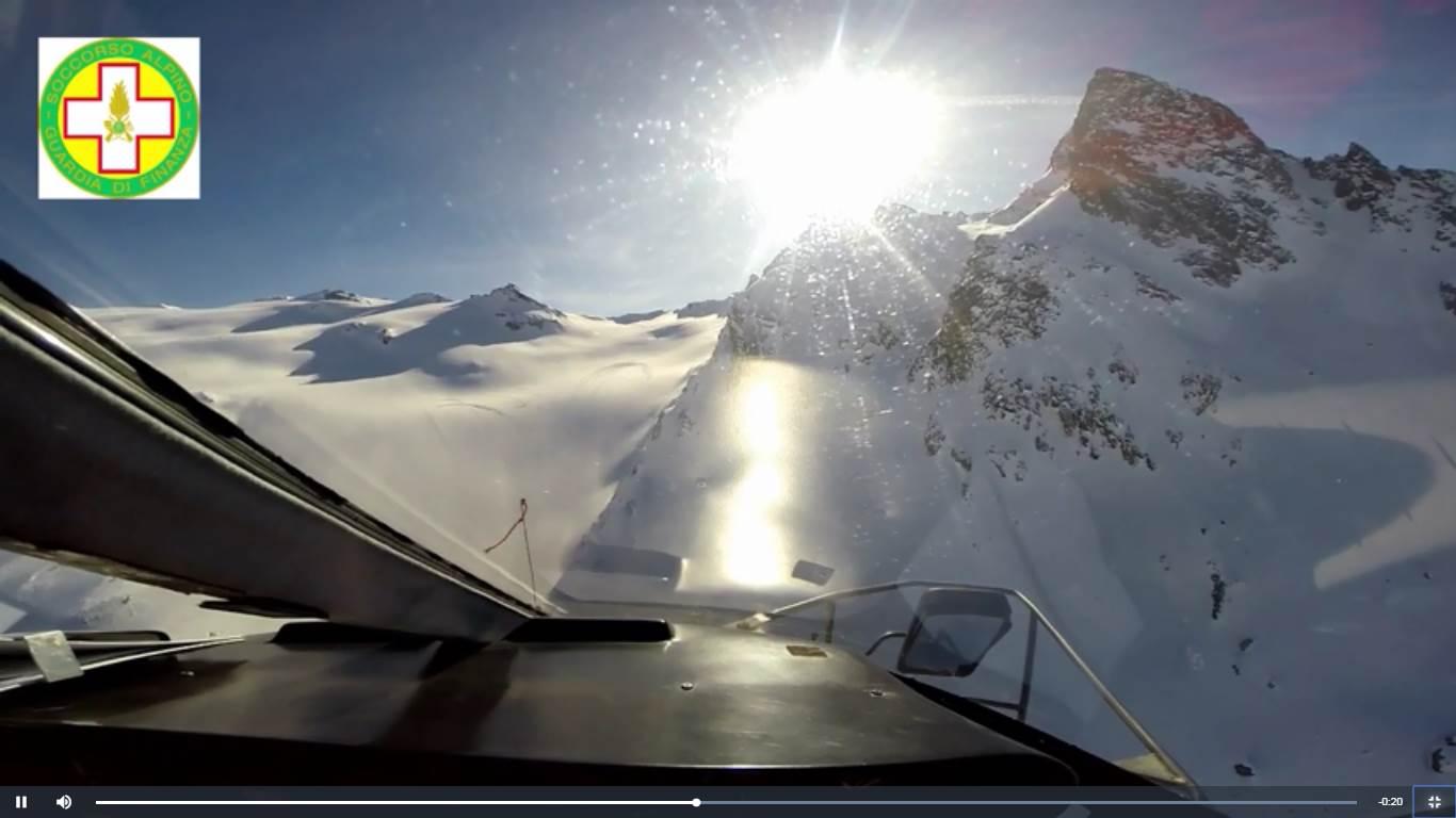 Photo of Incidente aereo del Rutor, ritrovate le GoPro. Le immagini dell'impatto