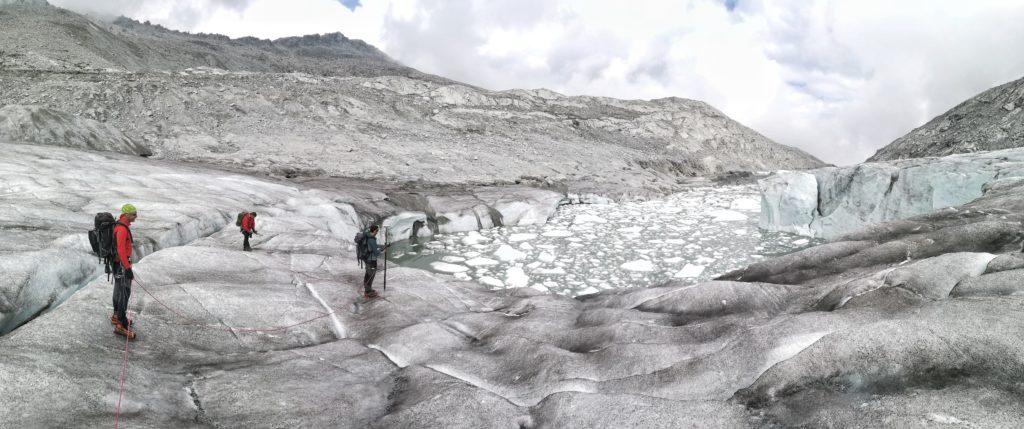 ghiacciaio di Lares, Cristian ferrari, Parco adamello brenta