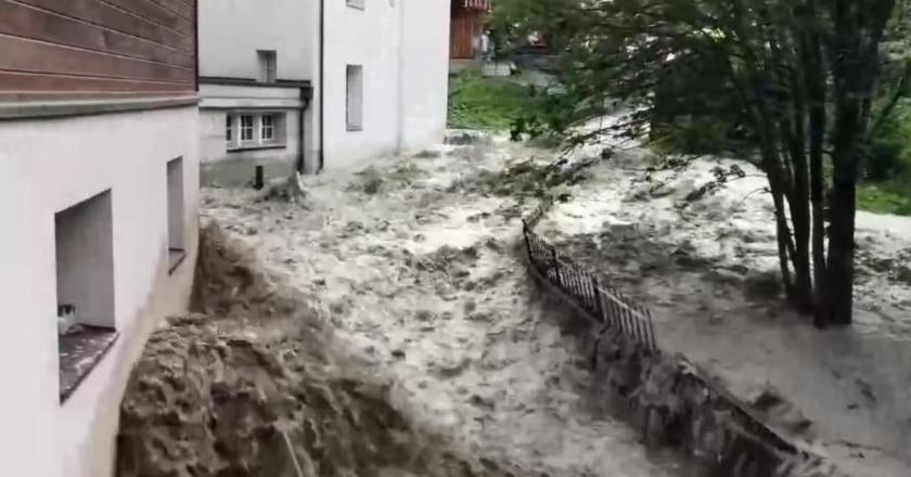 inondazione zermatt