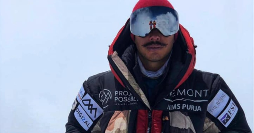 Nirmal Purja in vetta al Broad Peak