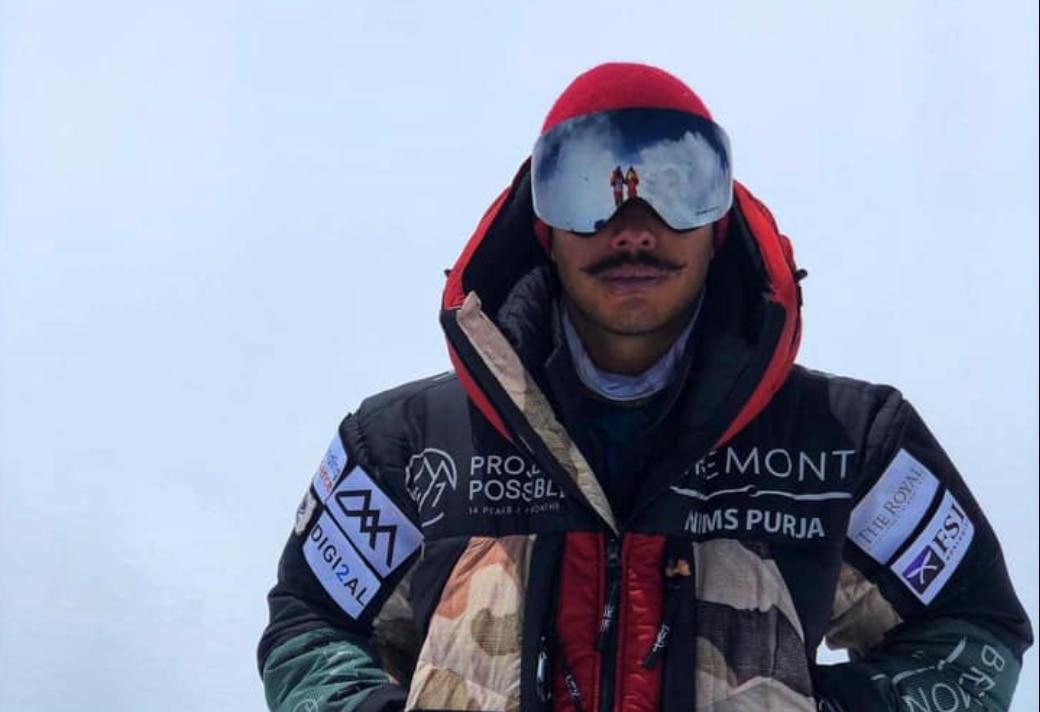 Nirmal Purja in vetta al Broad Peak