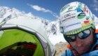 Mario Vielmo al C2 del Broad Peak (6.200 m) - Foto FB @Mario Vielmo